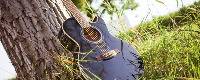 Countrygitarr, musik